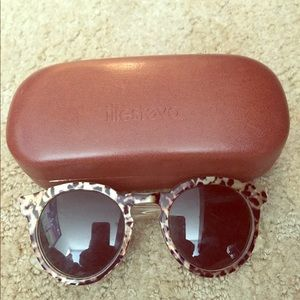 Illesteva funky leopard sunglasses